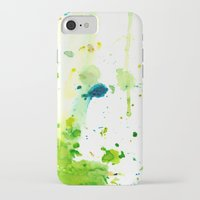 atlas iPhone & iPod Cases featuring atlas by agnes Trachet
