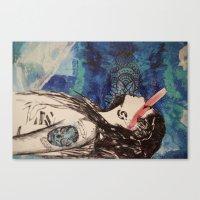battlestar Canvas Prints featuring Battlestar by Angel Marie