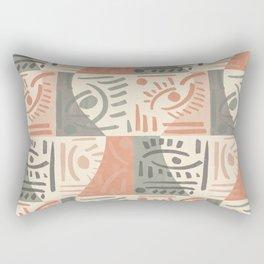Tribal Tiles Rectangular Pillow