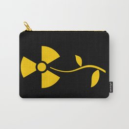 Radioactive flower Yellow design Carry-All Pouch