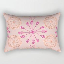 Pinwheel Blush Rectangular Pillow