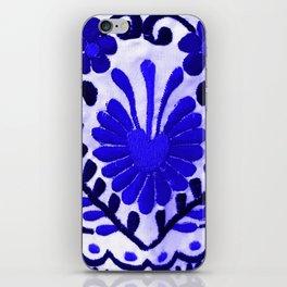 Strange Love Blue iPhone Skin