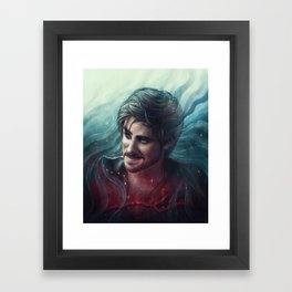 At Your Service, Ma'am Framed Art Print