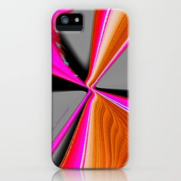 """Christmas Ribbon"" Print iPhone Case"