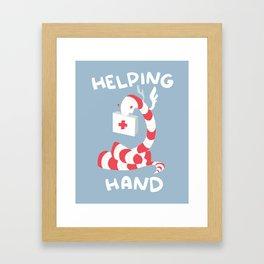 Helping Hand Framed Art Print