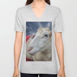 Beautiful sheep Unisex V-Neck
