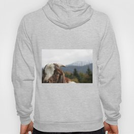 Look who's complaining, funny goat photo Hoody
