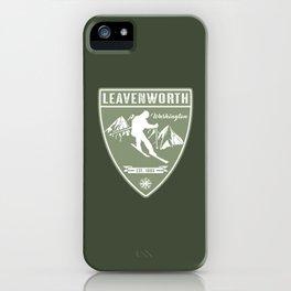 Ski Leavenworth Washington iPhone Case