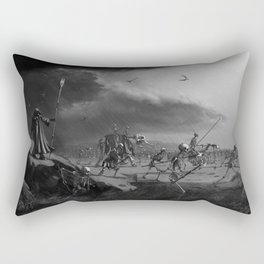 March of the Necromancer Rectangular Pillow