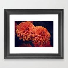 If A Flower Was The Sun Framed Art Print