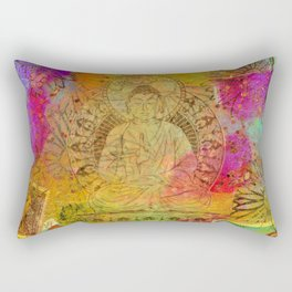 Ethereal Buddha Rectangular Pillow