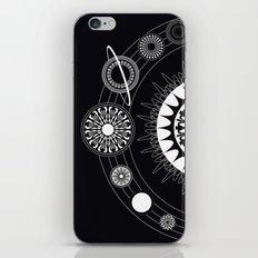 Mandala Solar System iPhone & iPod Skin