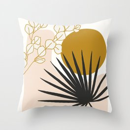 Tropical Sensation Throw Pillow