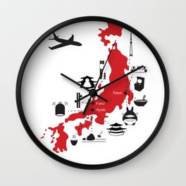 Japan (noun) Wall Clock
