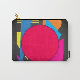 Abstract modern print Carry-All Pouch