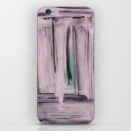 Rose et Vert iPhone Skin