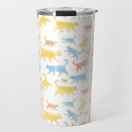 Watercolor Cats - Cats Everywhere! Travel Mug