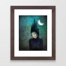 Moonlit Night Framed Art Print