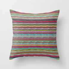 Honolulu chevron Throw Pillow