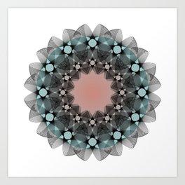 Ah Um Design #012e Art Print
