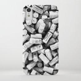 Something Nostalgic II Twist-off Wine Corks in Black And White #decor #society6 #buyart iPhone Case