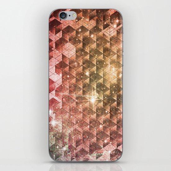 spheric cubes iPhone & iPod Skin