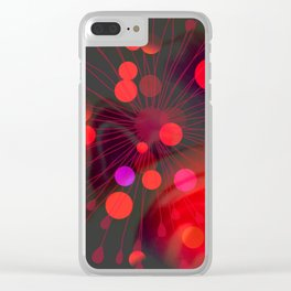 Efflorescence [2] Celebration Clear iPhone Case