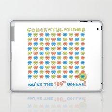 100th Collar! Laptop & iPad Skin