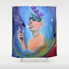 Overthinker Shower Curtain