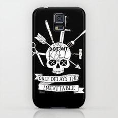 What Doesn't Kill Me - Black Slim Case Galaxy S5
