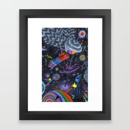 Node in the Noosphere Framed Art Print