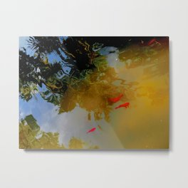 Goldfish at Alcazar Palace, Sevilla Metal Print