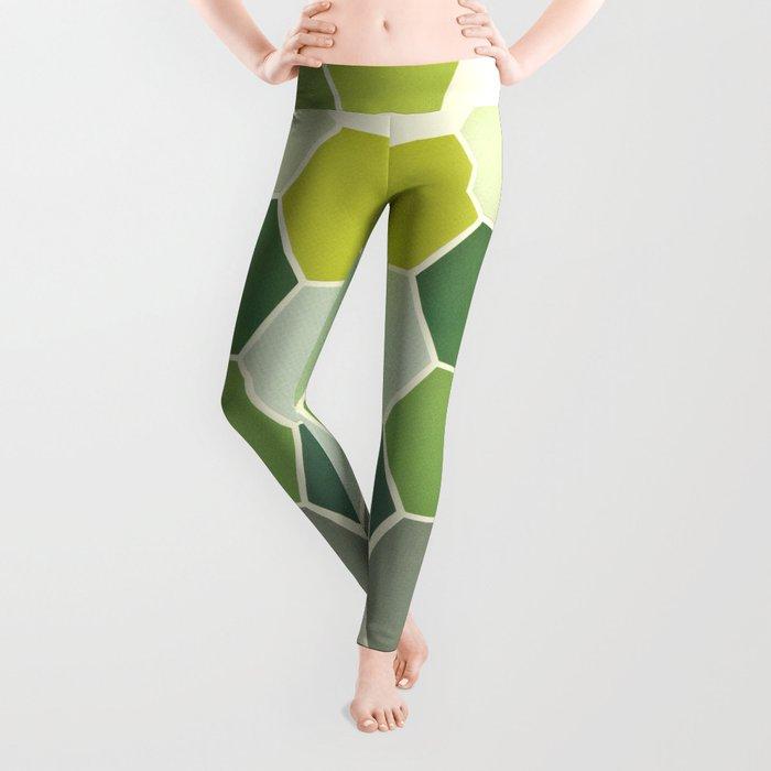 Shades of Green Leggings