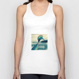 Sad Bird Unisex Tank Top