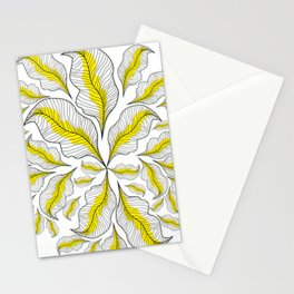 yellow---line Stationery Cards