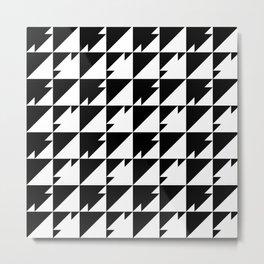 Triangle Dash Metal Print