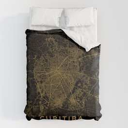 Curitiba, Brazil - Gold Comforters