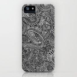 Maniac arabesque iPhone Case