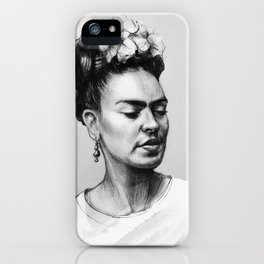 Portrait of Frida Kahlo iPhone Case