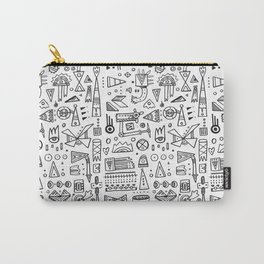 Triangle doodles Carry-All Pouch