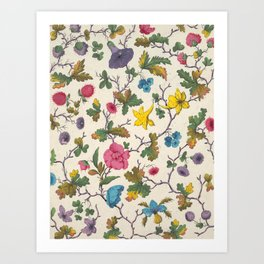 Bunch o' Flowers Art Print