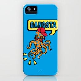 Gangstapus iPhone Case