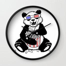 3D Panda Wall Clock