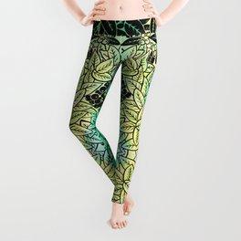 Leafy YingYang Leggings