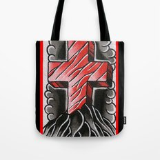 cross of ages Tote Bag