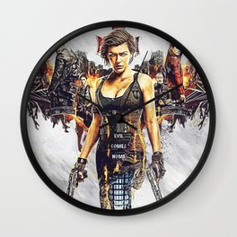resident evil the final chapter Wall Clock