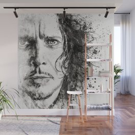 The Voice of Seattle Monochrome Wall Mural