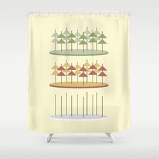 Forest - 2 Shower Curtain