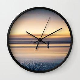 before night fall Wall Clock