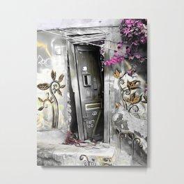 PLAKA - DOOR no2a Metal Print